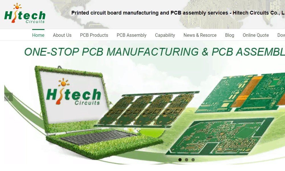 China PCB Manufacturer Hitech Circuits