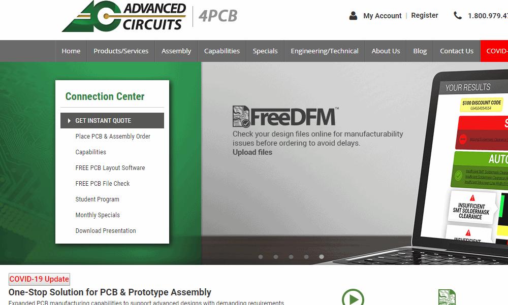 PCB Assembly Company Advanced Circuits