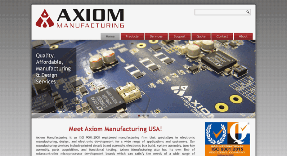 Prototype PCB Assembly AXIOM Manufacturing