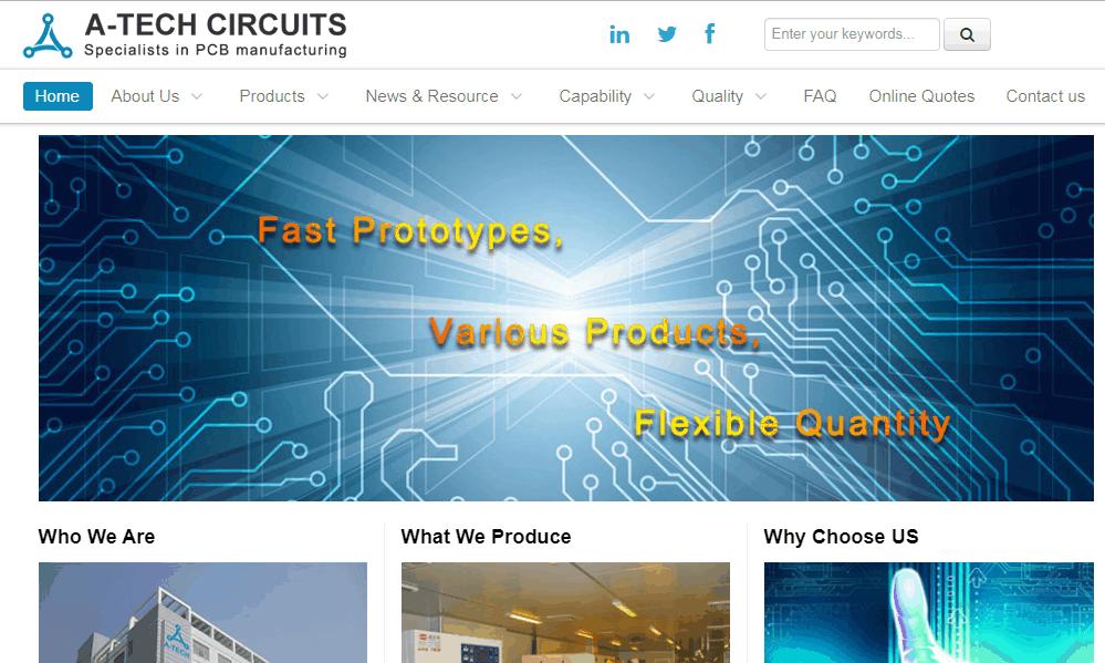 PCB Assembly Company A-Tech Circuits