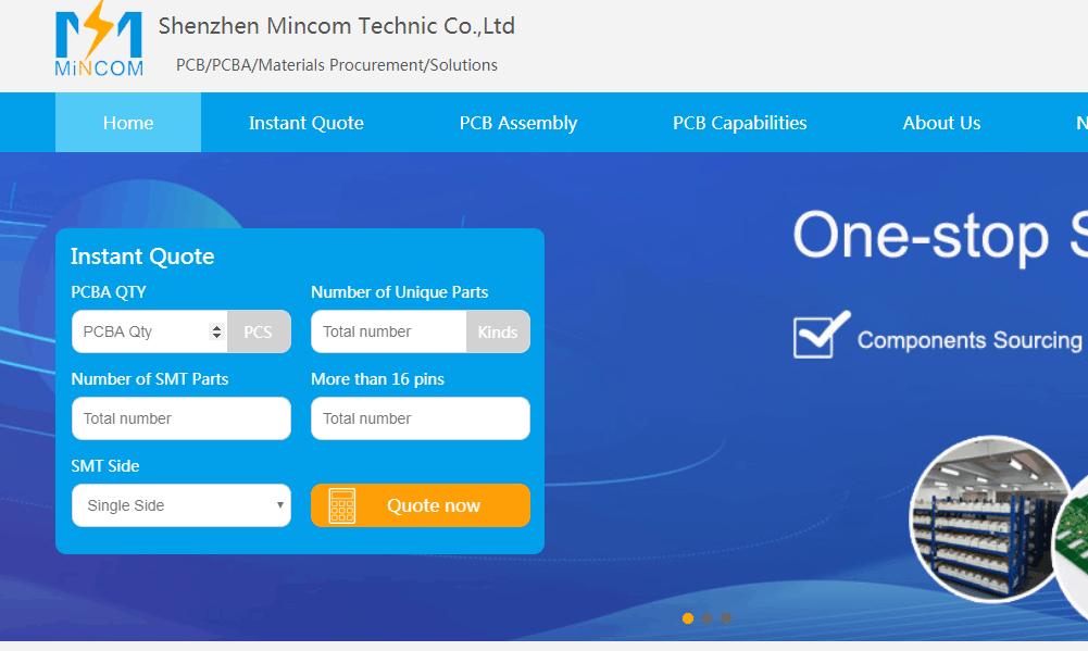PCB Assembly Company Shenzhen Mincom Technic