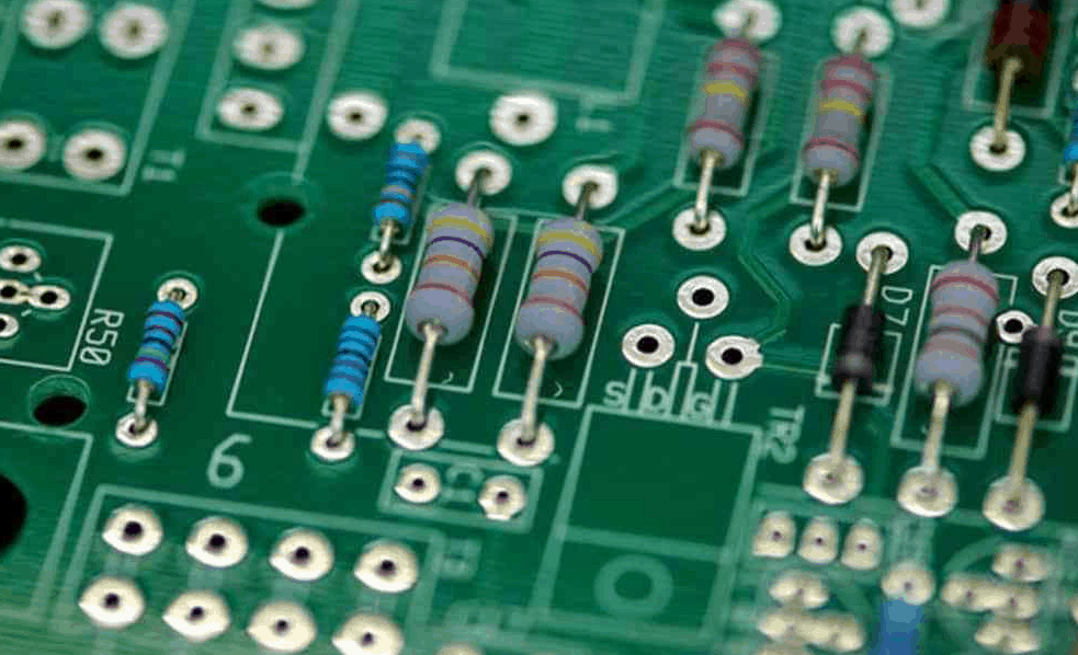 Through Hole PCB Assembly