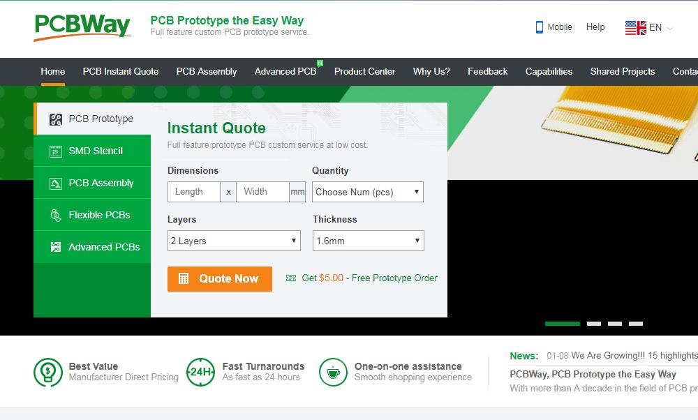 PCB Assembly Company pcbway