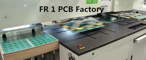 FR 1 PCB Factory