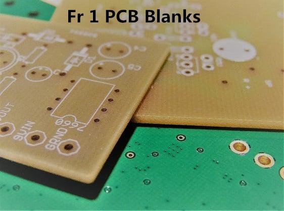 Fr 1 PCB Blanks