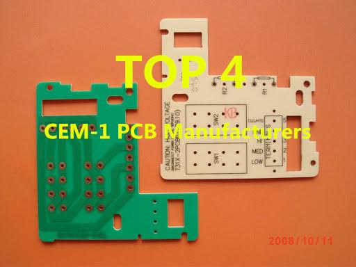 Top 4 CEM-1 PCB Manufacturers